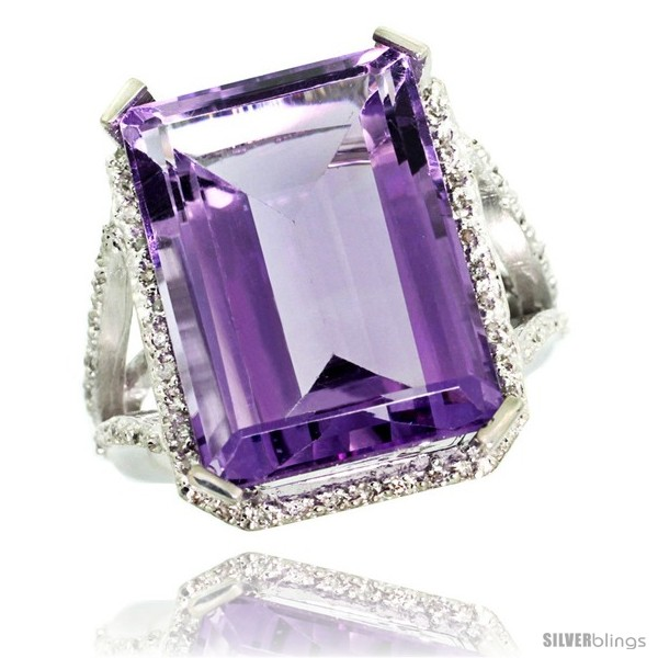https://www.silverblings.com/41838-thickbox_default/10k-white-gold-diamond-amethyst-ring-14-96-ct-emerald-shape-18x13-stone-13-16-in-wide.jpg