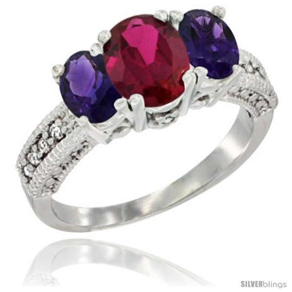 https://www.silverblings.com/41844-thickbox_default/10k-white-gold-ladies-oval-natural-ruby-3-stone-ring-amethyst-sides-diamond-accent.jpg