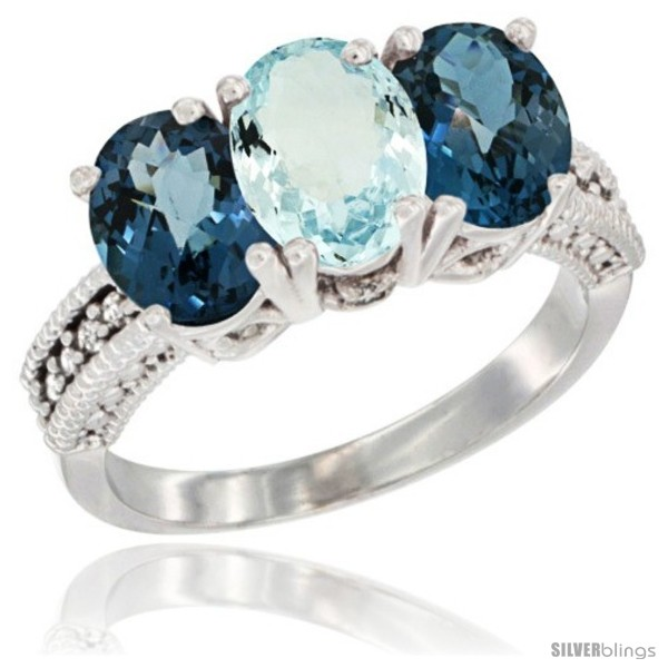 https://www.silverblings.com/41887-thickbox_default/14k-white-gold-natural-aquamarine-london-blue-topaz-sides-ring-3-stone-7x5-mm-oval-diamond-accent.jpg