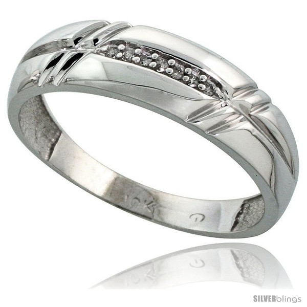 https://www.silverblings.com/41899-thickbox_default/10k-white-gold-mens-diamond-wedding-band-ring-0-04-cttw-brilliant-cut-1-4-in-wide-style-ljw005mb.jpg