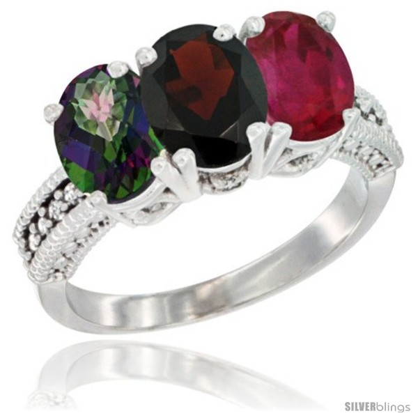 https://www.silverblings.com/4190-thickbox_default/10k-white-gold-natural-mystic-topaz-garnet-ruby-ring-3-stone-oval-7x5-mm-diamond-accent.jpg