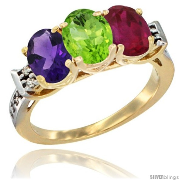 https://www.silverblings.com/41945-thickbox_default/10k-yellow-gold-natural-amethyst-peridot-ruby-ring-3-stone-oval-7x5-mm-diamond-accent.jpg