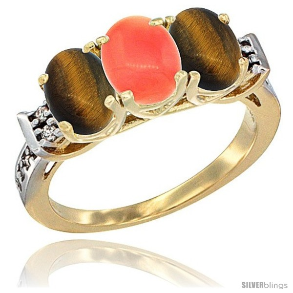 https://www.silverblings.com/41981-thickbox_default/10k-yellow-gold-natural-coral-tiger-eye-sides-ring-3-stone-oval-7x5-mm-diamond-accent.jpg