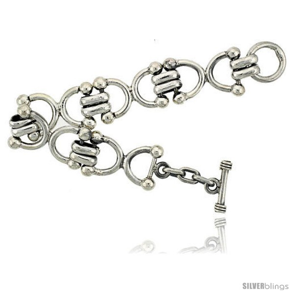 https://www.silverblings.com/41997-thickbox_default/sterling-silver-horseshoe-link-bracelet-toggle-clasp-handmade-3-4-in-wide.jpg