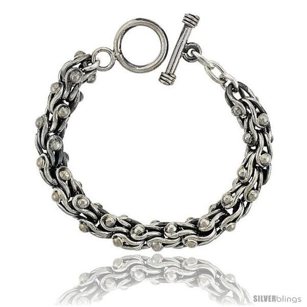 https://www.silverblings.com/42005-thickbox_default/sterling-silver-stirrups-link-bracelet-toggle-clasp-handmade-3-8-in-wide.jpg