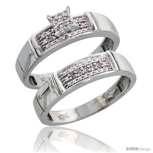 https://www.silverblings.com/42109-thickbox_default/10k-white-gold-diamond-engagement-rings-set-2-piece-0-10-cttw-brilliant-cut-3-16-in-wide-style-ljw007e2.jpg