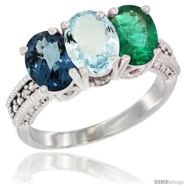 https://www.silverblings.com/42133-thickbox_default/14k-white-gold-natural-london-blue-topaz-aquamarine-emerald-ring-3-stone-7x5-mm-oval-diamond-accent.jpg