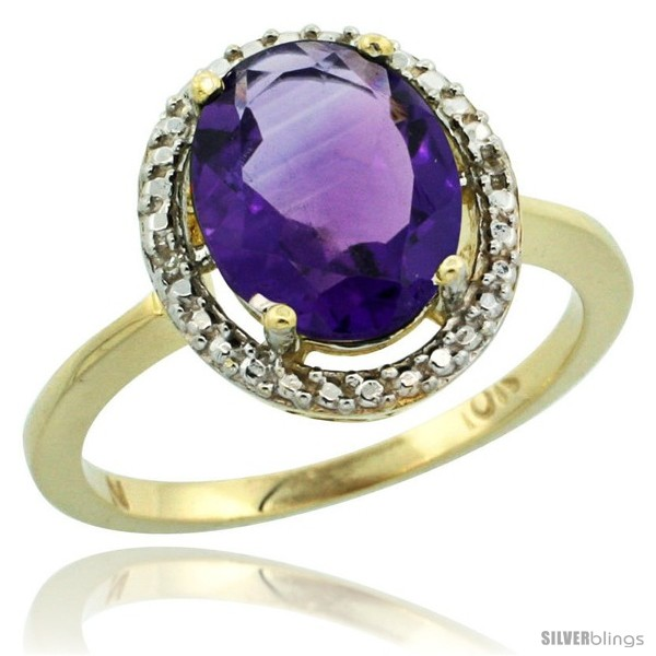 https://www.silverblings.com/42162-thickbox_default/10k-yellow-gold-diamond-amethyst-ring-2-4-ct-oval-stone-10x8-mm-1-2-in-wide-style-cy901114.jpg