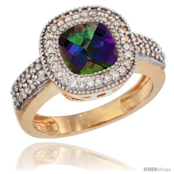https://www.silverblings.com/42184-thickbox_default/14k-yellow-gold-ladies-natural-mystic-topaz-ring-cushion-cut-3-5-ct-7x7-stone-diamond-accent.jpg