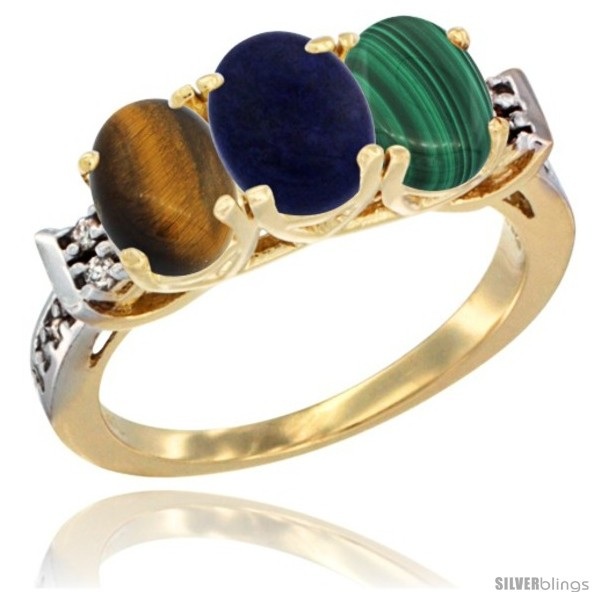 https://www.silverblings.com/42213-thickbox_default/10k-yellow-gold-natural-tiger-eye-lapis-malachite-ring-3-stone-oval-7x5-mm-diamond-accent.jpg