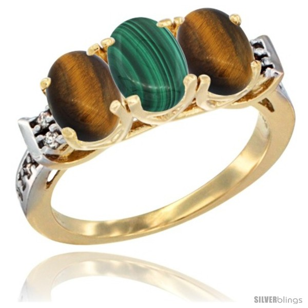 https://www.silverblings.com/42217-thickbox_default/10k-yellow-gold-natural-malachite-tiger-eye-sides-ring-3-stone-oval-7x5-mm-diamond-accent.jpg