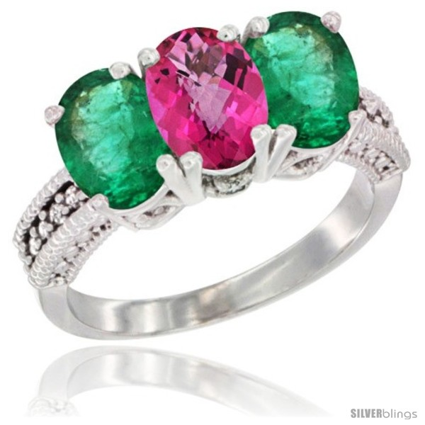 https://www.silverblings.com/42226-thickbox_default/14k-white-gold-natural-pink-topaz-emerald-sides-ring-3-stone-7x5-mm-oval-diamond-accent.jpg