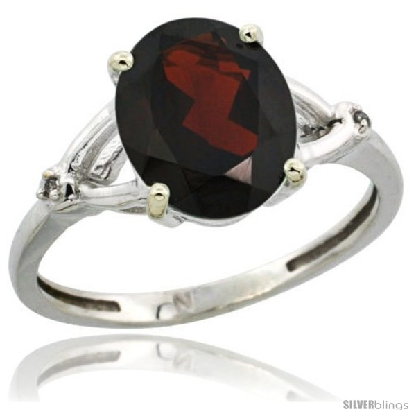 https://www.silverblings.com/4223-thickbox_default/14k-white-gold-diamond-garnet-ring-2-4-ct-oval-stone-10x8-mm-3-8-in-wide.jpg