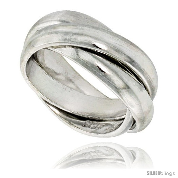 https://www.silverblings.com/42240-thickbox_default/sterling-silver-rolling-ring-w-5-mm-domed-bands-handmade.jpg