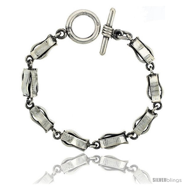 https://www.silverblings.com/42289-thickbox_default/sterling-silver-curvy-long-box-chain-link-bracelet-toggle-clasp-handmade-3-8-in-wide.jpg