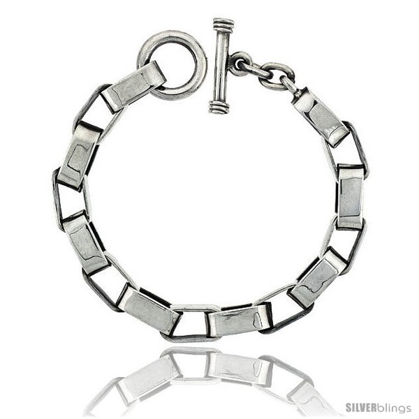 https://www.silverblings.com/42305-thickbox_default/sterling-silver-oval-cut-out-link-bracelet-toggle-clasp-handmade-1-2-in-wide.jpg