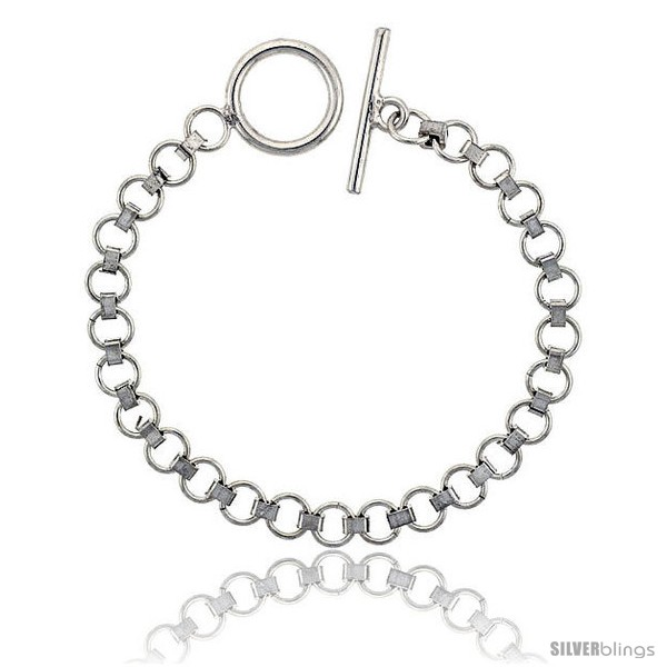 https://www.silverblings.com/42319-thickbox_default/sterling-silver-round-link-bracelet-toggle-clasp-handmade-9-32-in-wide.jpg