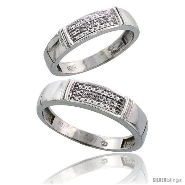 https://www.silverblings.com/42337-thickbox_default/10k-white-gold-diamond-wedding-rings-2-piece-set-for-him-5-mm-her-4-5-mm-0-06-cttw-brilliant-cut-style-ljw007w2.jpg