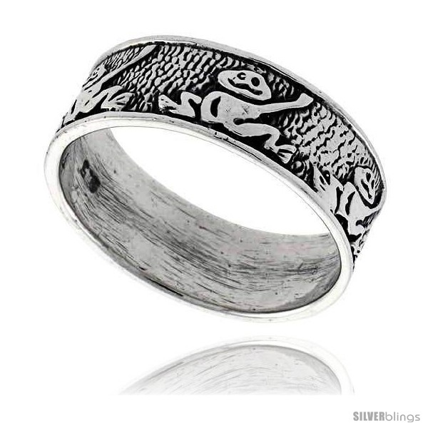 https://www.silverblings.com/42371-thickbox_default/sterling-silver-frog-link-wedding-band-ring-5-16-in-wide.jpg