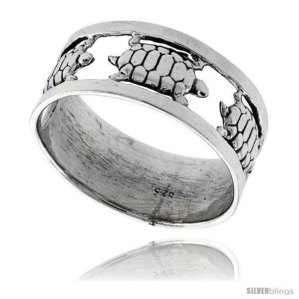 https://www.silverblings.com/42373-thickbox_default/sterling-silver-polished-turtle-wedding-band-ring-3-8-wide.jpg