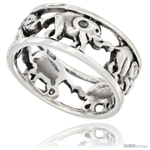 https://www.silverblings.com/42379-thickbox_default/sterling-silver-elephant-link-wedding-band-ring-5-16-in-wide.jpg