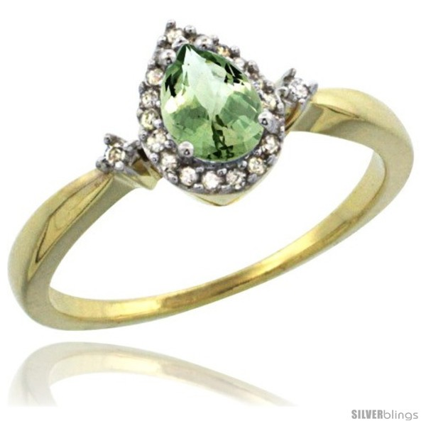 https://www.silverblings.com/4240-thickbox_default/10k-yellow-gold-diamond-green-amethyst-ring-0-33-ct-tear-drop-6x4-stone-3-8-in-wide.jpg