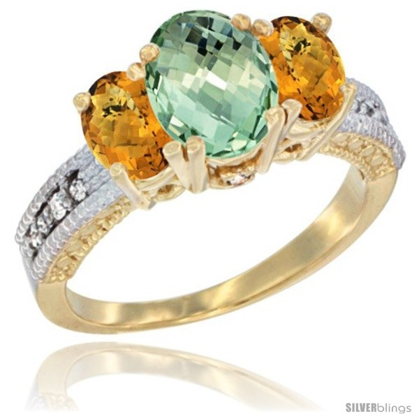 https://www.silverblings.com/42464-thickbox_default/10k-yellow-gold-ladies-oval-natural-green-amethyst-3-stone-ring-whisky-quartz-sides-diamond-accent.jpg