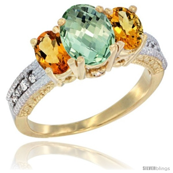 https://www.silverblings.com/42496-thickbox_default/14k-yellow-gold-ladies-oval-natural-green-amethyst-3-stone-ring-citrine-sides-diamond-accent.jpg