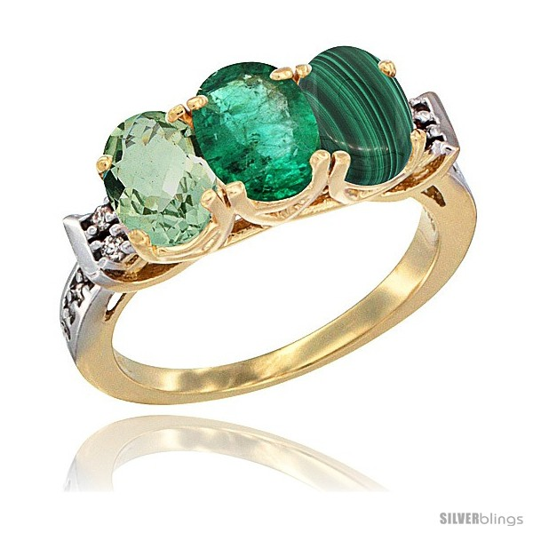 https://www.silverblings.com/4250-thickbox_default/10k-yellow-gold-natural-green-amethyst-emerald-malachite-ring-3-stone-oval-7x5-mm-diamond-accent.jpg