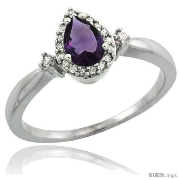 https://www.silverblings.com/42520-thickbox_default/10k-white-gold-diamond-amethyst-ring-0-33-ct-tear-drop-6x4-stone-3-8-in-wide.jpg