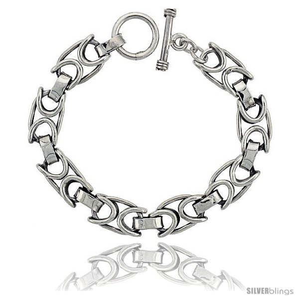 https://www.silverblings.com/42613-thickbox_default/sterling-silver-oval-link-bracelet-toggle-clasp-handmade-1-2-in-wide-style-lx460.jpg