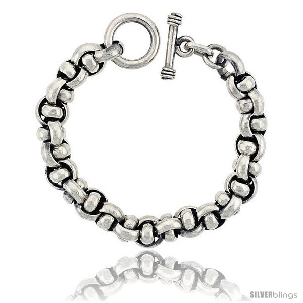 https://www.silverblings.com/42625-thickbox_default/sterling-silver-interlaced-circles-link-bracelet-toggle-clasp-handmade-7-16-in-wide.jpg