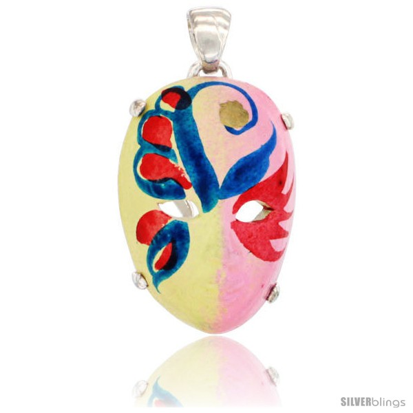 https://www.silverblings.com/42641-thickbox_default/sterling-silver-venetian-carnival-mask-pendant-hand-painted-ceramic-yellow-pink-italy-1-1-8-in.jpg
