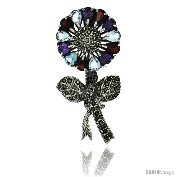 https://www.silverblings.com/42654-thickbox_default/sterling-silver-marcasite-large-sunflower-brooch-pin-w-pear-cut-garnet-amethyst-blue-topaz-stones-2-1-2-in-62-mm-tall.jpg