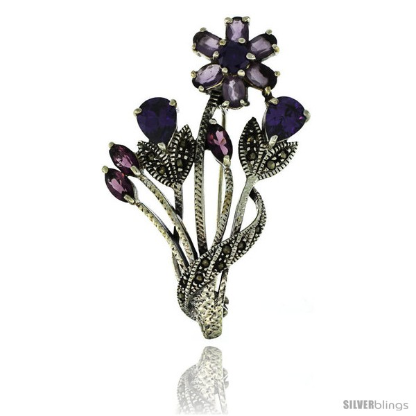 https://www.silverblings.com/42666-thickbox_default/sterling-silver-marcasite-flower-cluster-brooch-pin-w-round-pear-oval-marquise-cut-amethyst-stones-2-1-4-in-57-mm-tall.jpg