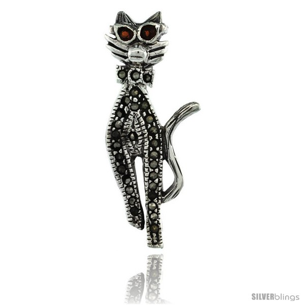 https://www.silverblings.com/42694-thickbox_default/sterling-silver-marcasite-cool-cat-brooch-pin-w-round-garnet-stones-1-7-16-in-36-mm-tall.jpg