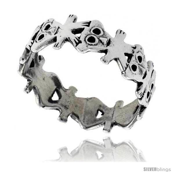 https://www.silverblings.com/42726-thickbox_default/sterling-silver-teddy-bear-link-wedding-band-ring-5-16-in-wide-style-tr665.jpg