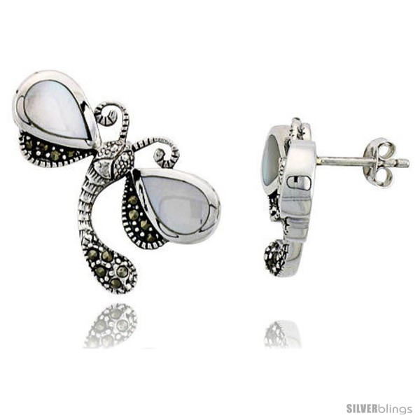 https://www.silverblings.com/42971-thickbox_default/marcasite-dragonfly-earrings-in-sterling-silver-w-pear-shaped-mother-of-pearl-1-1-16-27-mm-wide.jpg