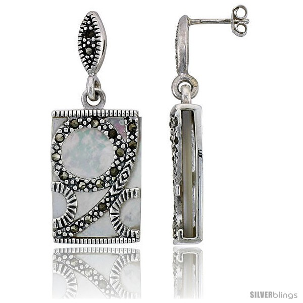 https://www.silverblings.com/42977-thickbox_default/marcasite-rectangular-earrings-in-sterling-silver-w-mother-of-pearl-1-9-16-40-mm-tall.jpg