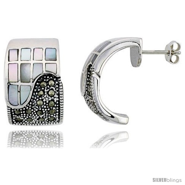 https://www.silverblings.com/42979-thickbox_default/marcasite-rectangular-earrings-in-sterling-silver-w-mother-of-pearl-13-16-21-mm-tall.jpg
