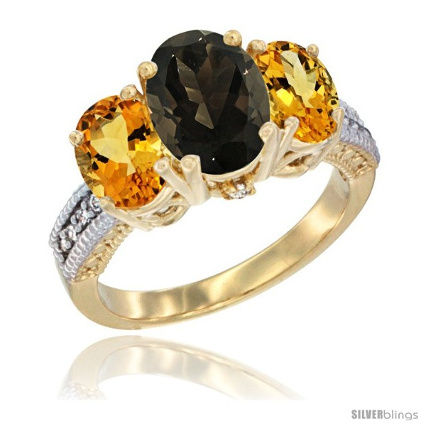https://www.silverblings.com/43132-thickbox_default/14k-yellow-gold-ladies-3-stone-oval-natural-smoky-topaz-ring-citrine-sides-diamond-accent.jpg