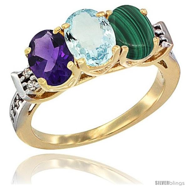https://www.silverblings.com/43157-thickbox_default/10k-yellow-gold-natural-amethyst-aquamarine-malachite-ring-3-stone-oval-7x5-mm-diamond-accent.jpg