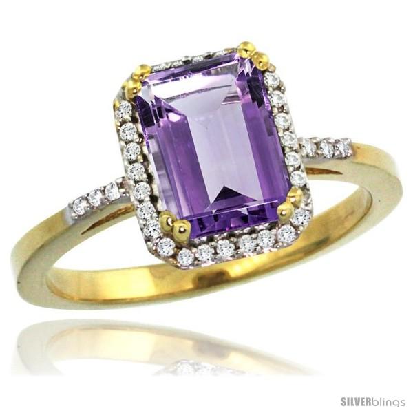 https://www.silverblings.com/43183-thickbox_default/10k-yellow-gold-diamond-amethyst-ring-1-6-ct-emerald-shape-8x6-mm-1-2-in-wide-style-cy901129.jpg