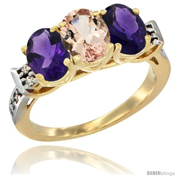 https://www.silverblings.com/43193-thickbox_default/10k-yellow-gold-natural-morganite-amethyst-sides-ring-3-stone-oval-7x5-mm-diamond-accent.jpg