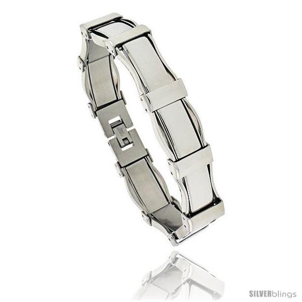 https://www.silverblings.com/432-thickbox_default/gents-stainless-steel-bracelet-1-2-in-wide-8-1-2-in-long-style-bss102.jpg