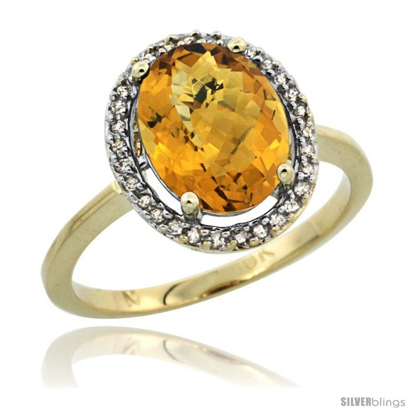 https://www.silverblings.com/43304-thickbox_default/10k-yellow-gold-diamond-halo-whisky-quartz-ring-2-4-carat-oval-shape-10x8-mm-1-2-in-12-5mm-wide.jpg