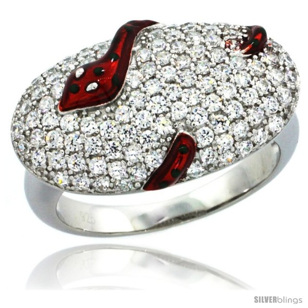 https://www.silverblings.com/43375-thickbox_default/sterling-silver-polka-dot-snake-on-oval-ring-w-brilliant-cut-cz-stones-1-2-in-13-mm-wide.jpg