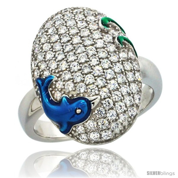 https://www.silverblings.com/43381-thickbox_default/sterling-silver-blue-dolphin-on-oval-ring-w-brilliant-cut-cz-stones-13-16-in-20-mm-wide.jpg