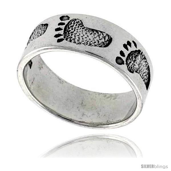 https://www.silverblings.com/43401-thickbox_default/sterling-silver-footprints-link-wedding-band-ring-3-8-wide.jpg