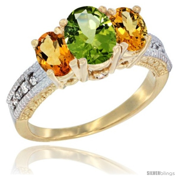 https://www.silverblings.com/43492-thickbox_default/14k-yellow-gold-ladies-oval-natural-peridot-3-stone-ring-citrine-sides-diamond-accent.jpg